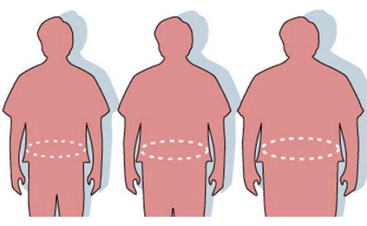 Il grasso addominale è associato a maggiori rischi di malattie cardiache e diabete