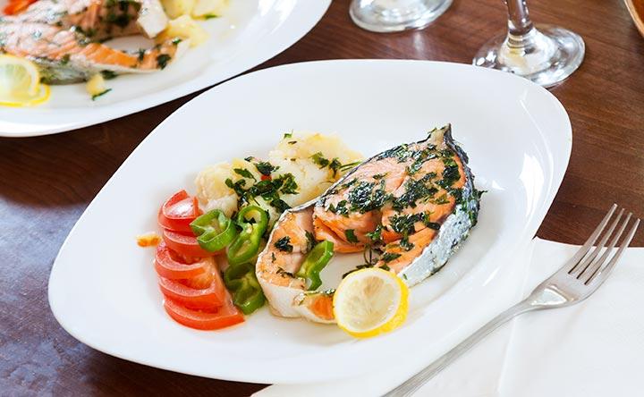 Pesce e probiotici per un intestino in salute