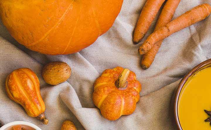 Carote e zucca per il benessere intestinale